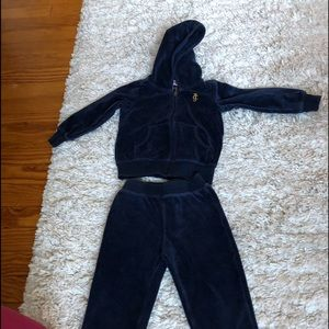 Juicy Couture Sweats 2T